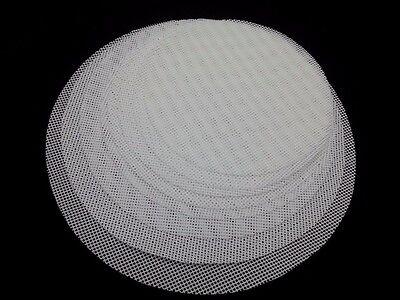 Round Non-Stick Silicone Mesh Cloth Baking Liners Steamer Pad Dumplings Buns  LA