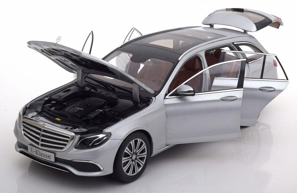 Iscale 2017 Mercedes Benz Classe E Domaine S213 Argent Métallisé Marchand