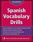 Spanish Vocabulary Drills by David M. Stillman, Ronni L. Gordon (Paperback, 2013)