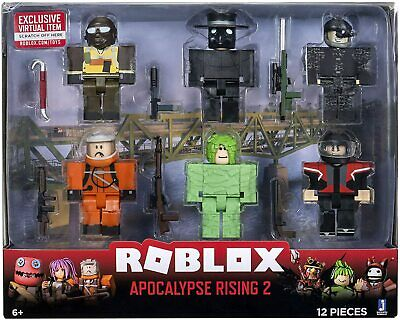 Apocalypse Rising Van Roblox Roblox Action Collection Apocalypse Rising 2 6 Figure Pack W Exclusive Item Ebay