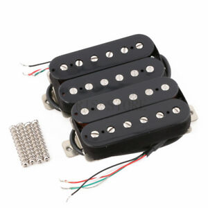 humbucker pickup set alnico 5 magnet copper nickel base for electric guitar ebay. Black Bedroom Furniture Sets. Home Design Ideas