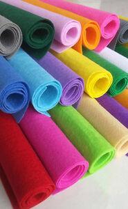 28pcs-soft-Felt-Fabric-Sheet-Assorted-Color-Felt-DIY-Craft-Sewing-Square-20x30cm