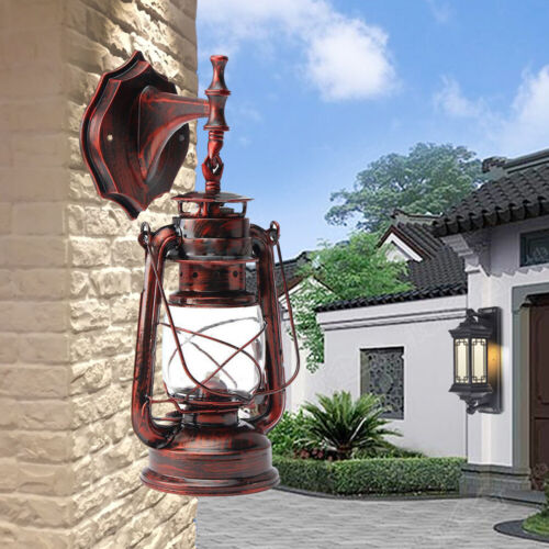 4-Type Retro Wandleuchte Vintage Metal Wandlampe Industrie Lampenfassung für E27
