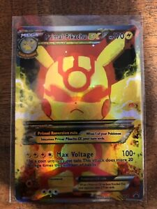 Leggi La Descrizione Pokemon Gx Ex Mega M Raichu Pikachu Full Art Read Below Wdajzain-08005221-171442351