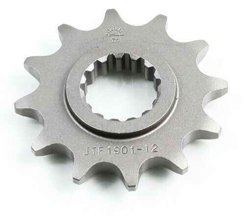 JT 12 Tooth Steel Front Sprocket 520 Pitch JTF1901.12
