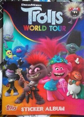 Topps Trolls World Tour 2020 Stickers Displaybox 30 Stickerp/äckchen
