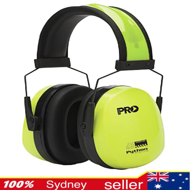 Pro Choice PYTHON Slimeline Hi Vis Neckband Earmuff Durable Hearing Protection