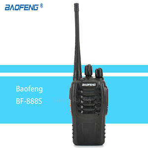 Baofeng-BF-888S-Walkie-Talkie-5W-16CH-FM-1500mAh-UHF-400-470MHz-PMR446-Ham-Radio