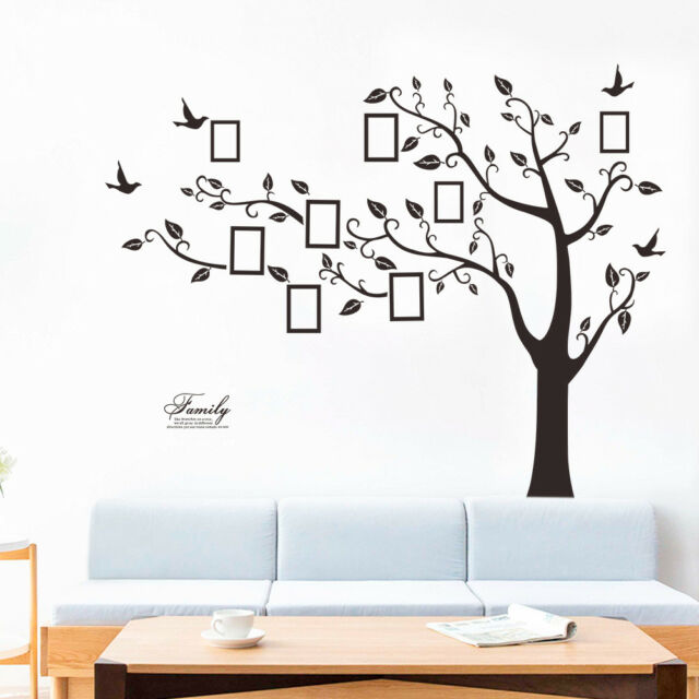 New big Size Family Tree Wall Decal