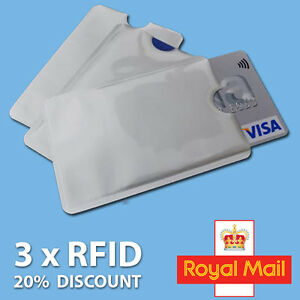 3x-RFID-Blocking-Sleeve-Credit-Card-Protector-Bank-Card-Holder-for-Wallets-UK