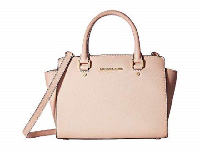 0b3b97281fa436 Michael Kors Selma Saffiano Chili Handbag Pre-owned Women's Medium ...