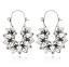 Bohemia-Argent-Or-Plaque-Creux-Lotus-Pendants-d-039-oreilles-pour-femme-Fleur-Bijoux miniature 10