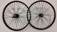 Bmx Weinmann Bicycle Wheel's 20 X 1.95 Black Coaster Brake Pair