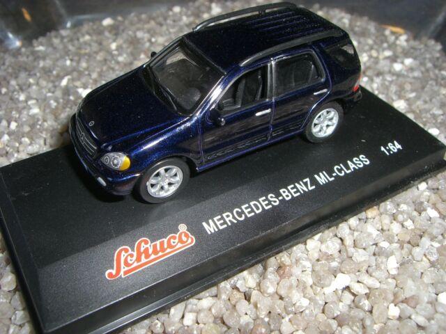 MERCEDES BENZ ML - CLASE negro azul SCHUCO 1:64