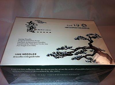 """HBW  #36x0.5""""(0.20mmx15mm) bulk acupuncture needle 1000 pcs"""