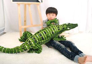 New-79-034-65-034-39-034-Soft-Crocodile-Plush-Stuffed-Animal-Doll-Toy-Pillow-Cushion-Gift
