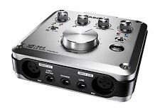 Tascam US-322 portables USB Audio-Interface mit 2 Inputs und 2 Outputs,Cubase LE