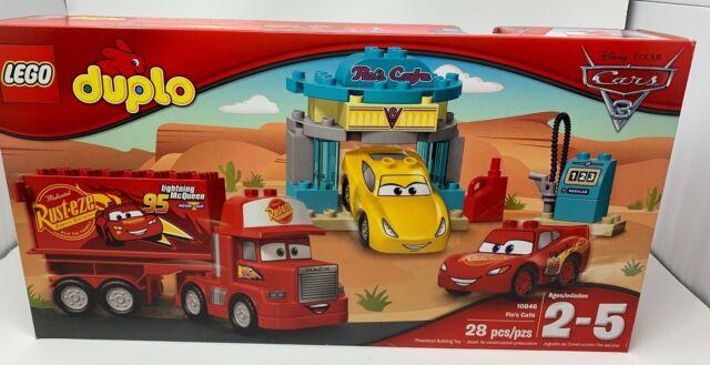*BRAND NEW* Lego Duplo Set #10846 Flo's Cafe ~Retired~ Disney Cars