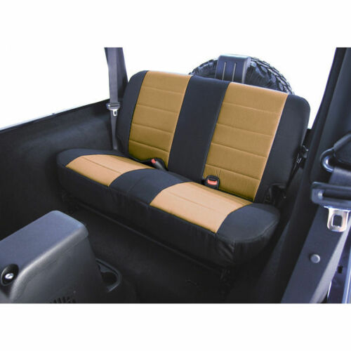 New Jeep Wrangler Tj 03-06 Rear Fabric Seat Cover Tan  X 13282.04