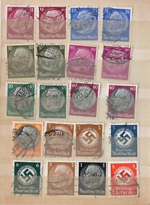 German-stamps-Third-Reich-pre-1945-used-NH-743