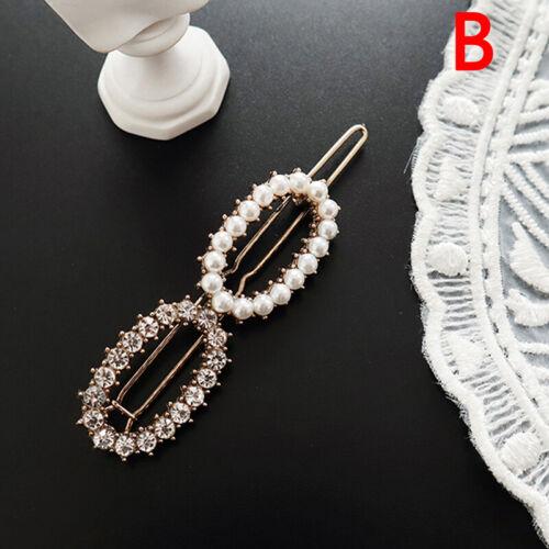 New Pearl Crystal Hair Clip Hairband Comb Bobby Pin Barrette Hairpin Headdress