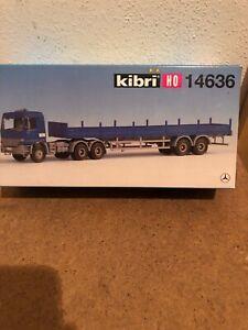 Spur-H0-Kibri-14636-Arctros-Mit-Pritschenauflieger-Neu-oVP