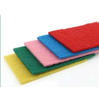 10 Pieces Practical Kitchen Scouring Pads Sponge Dishcloth Cleaning Dish Towel