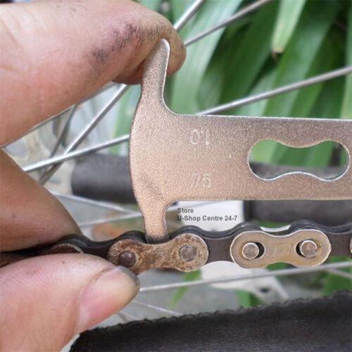 Bicycle Bike Chain Checker Wear Indicator Measure Tool Gauge Repair checker
