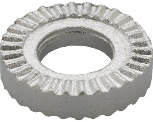 0042000011S3 Tektro Serrated Brake Washer #6.1x13.3 SB Silver