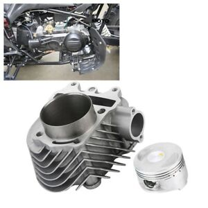 Details about For GY6 150CC 200CC BIG BORE KIT SET CYLINDER HEAD PISTON  GASKET TOP END 61mm