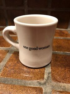 Details About One Good Woman Coffee Mug Heavy Weight Diner Style