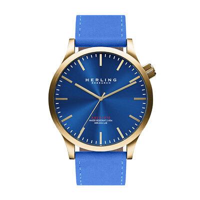 Reloj hombre/mujer HERLING H1 cuero deportivo casual vintage elegante