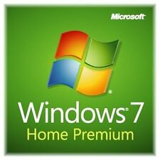 Windows 7 Home Premium 32 bit SP1 full install DVD with license key & RAM