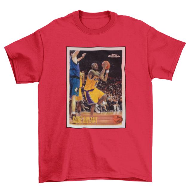 NEW Kobe Bryant Rookie Card Supreme Vintage T-Shirt Multiple Colors
