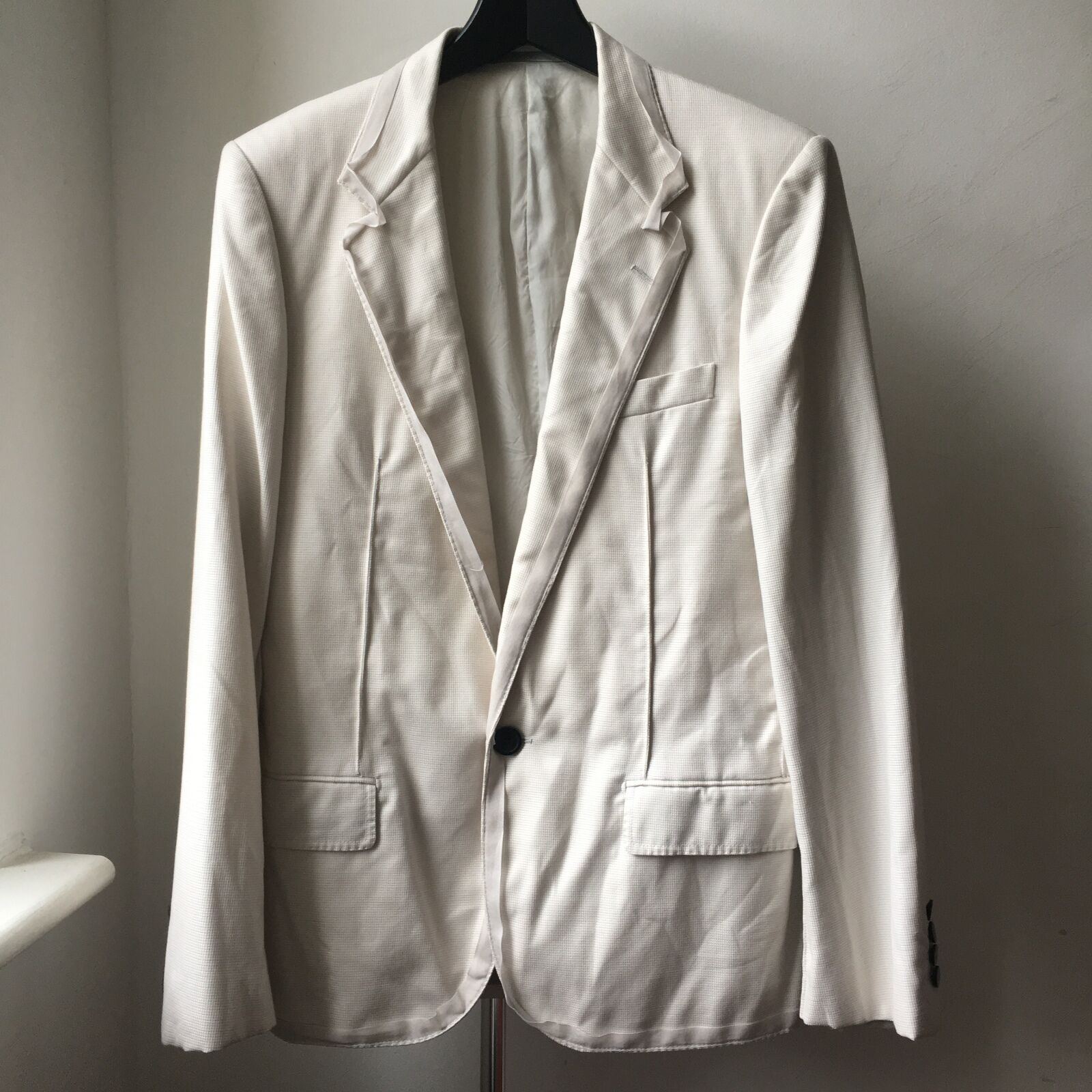 Very Cool LANVIN baumwolle jacke Sz 48 Lucas Ossendrijver early collection