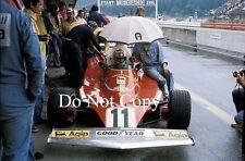Clay Regazzoni Ferrari 312T Austrian Grand Prix 1975 Photograph 1
