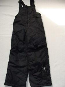 d0c14e42f4bb NWT Boys Black Snow Pants Bibs Size 4 Zero XPosur SKI Overalls ...