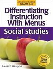 Differentiating Instruction With Menus Middle School 9781593633691 Paperback