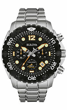 Bulova 98B244 Chronograph Mens Watch