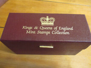 Kings-amp-Queens-of-England-Mint-Stamp-Collection-Complete-Great-Condition