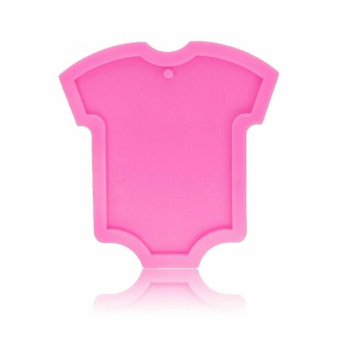 Baby Clothes Shape Silicone Mold KeyChain Pendant Polymer Clay DIY Jewelry Mould