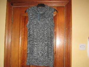Knitted-Chunky-Long-Evie-Jumper-with-Oversized-Collar-New-with-Tags-Size-14