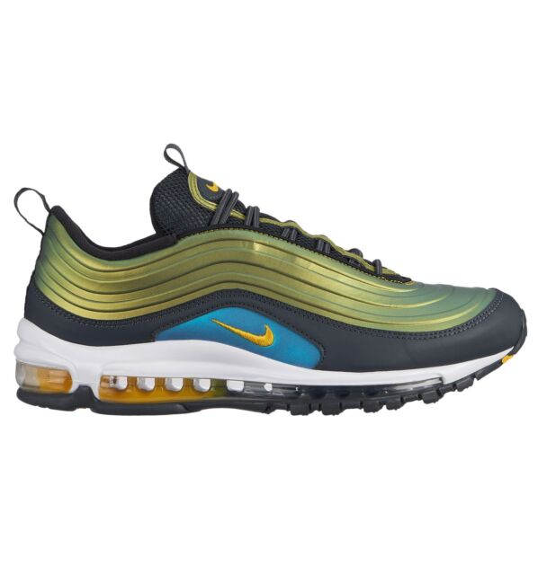 Nike Air Max 97 LX Mens Av1165 002 Amarillo Anthracite Running Shoes Size 13