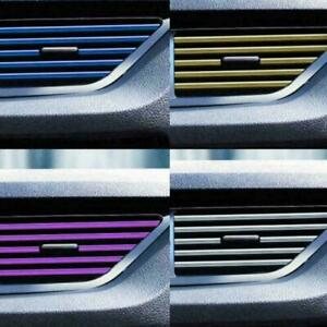 10x автомобильный сделай сам салона кондиционер выход вентиляционная решетка хром декор Су G7Z1