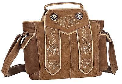 Dirndltasche Trachten Handtasche Trachtentasche Oktoberfest Echtleder Leder