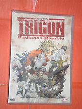 TRIGUN- badlands rumble- DVD ANIMAZIONE -DYNAMIC- nuovo e sigillato-