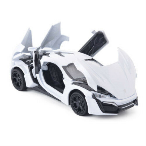 Fast And Furious Lykan Hypersport Alloy Cars Models Toys Vehicles For Kids