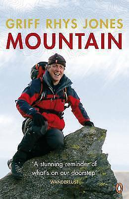 """""""AS NEW"""" Mountain: Exploring Britain's High Places, Rhys Jones, Griff, Book"""