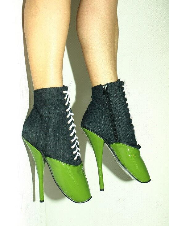 High heels, ballet Stiefel  jeans  producer Poland -heels 20cm Größe 37-47  FS1246