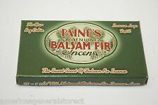 "INCENSE REFILL 15 BALSAM FIR LOGS 3/8""  Paine's lodge SACHET scented pine sticks"